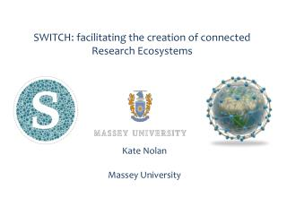 SWITCH: facilitating the creation of connected Research Ecosystems