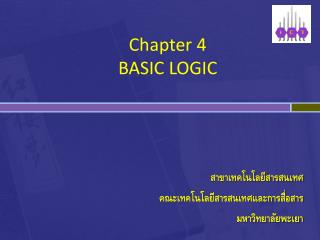 Chapter 4 BASIC LOGIC