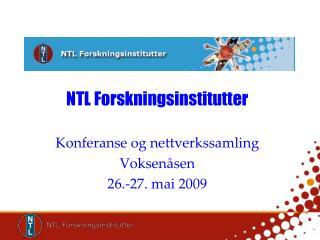 NTL Forskningsinstitutter