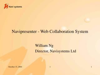 Navipresenter - Web Collaboration System