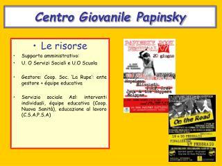 Centro Giovanile Papinsky