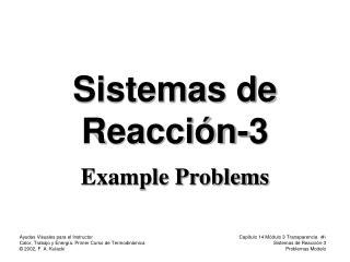 Sistemas de Reacción-3