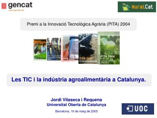 Jordi Vilaseca i Requena Universitat Oberta de Catalunya