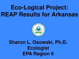 Eco-Logical Project:  REAP Results for Arkansas