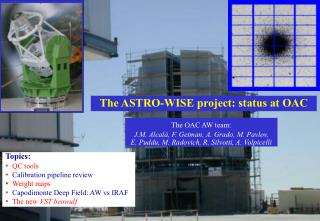The ASTRO-WISE project: status at OAC