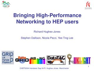 Bringing High-Performance Networking to HEP users