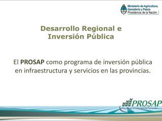 Desarrollo Regional e  Inversión Pública