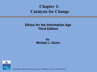 Chapter 1:  Catalysts for Change
