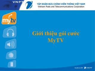 Giới thiệu gói cước MyTV