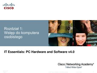 Rozdział 1: Wstęp do komputera osobistego