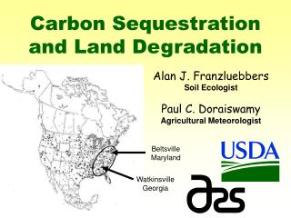 Carbon Sequestration and Land Degradation