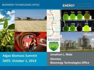 Algae Biomass Summit DATE:  October 1, 2014