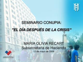SEMINARIO CONUPIA: