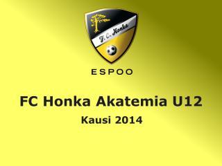 FC Honka Akatemia U12