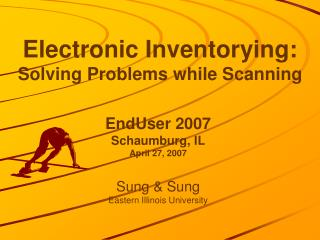 Electronic Inventorying: Solving Problems while Scanning