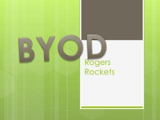 Rogers Rockets