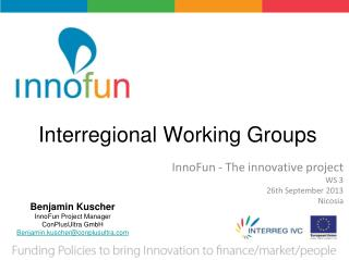 Interregional Working Groups