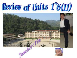 Review of Units 1~6(II)