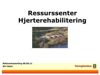 Ressurssenter Hjerterehabilitering