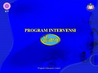 PROGRAM INTERVENSI