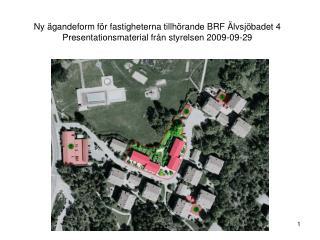 Ny ägandeform för fastigheterna tillhörande BRF Älvsjöbadet 4?