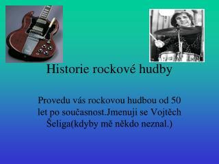 Historie rockov  hudby