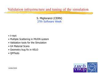 S. Miglioranzi (CERN)  37th Software Week