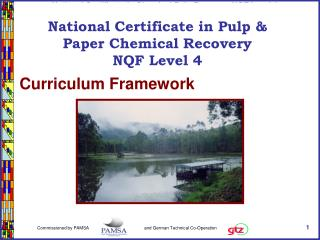 National Certificate in Paper & Pulp Manufacturing NQF Level 2