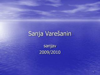 Sanja Varešanin