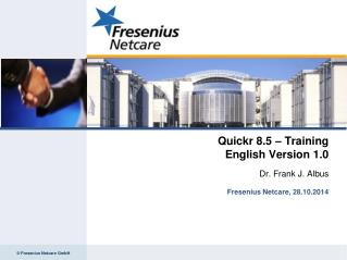 Quickr 8.5 – Training English Version 1.0