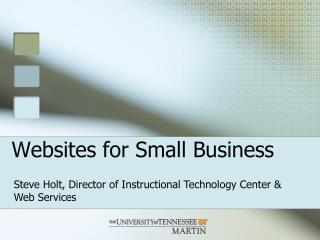 Websites for Small Business