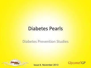 Diabetes Pearls