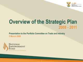 Overview of the Strategic Plan
