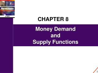 Money Demand  and  Supply Functions