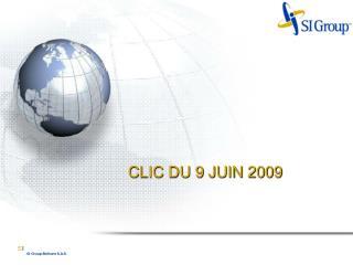 CLIC DU 9 JUIN 2009