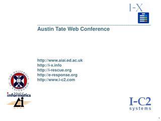 ___________________________________________________ Austin Tate Web Conference