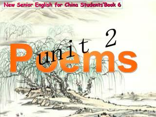 New Senior English for China Students'Book 6