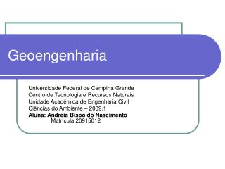 Geoengenharia