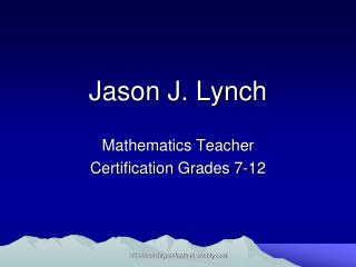 Jason J. Lynch