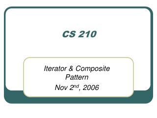 CS 210