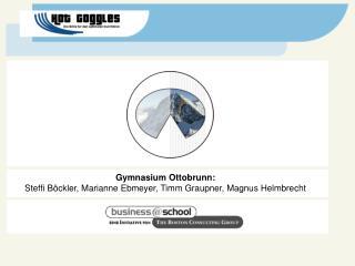 Gymnasium Ottobrunn: Steffi B�ckler, Marianne Ebmeyer, Timm Graupner, Magnus Helmbrecht