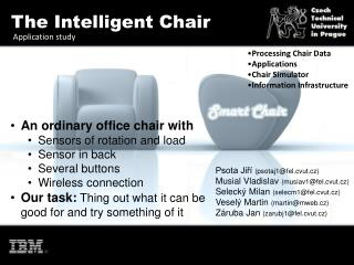 The Intelligent Chair