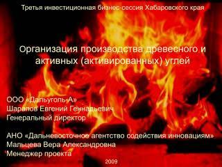 ООО «Дальуголь-А» Шарапов Евгений Геннадьевич Генеральный директор