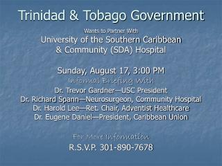 Trinidad & Tobago Government