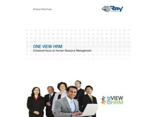 RayBiztech One View HRM