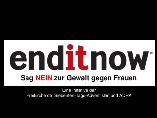 Eine Initiative der Freikirche der Siebenten-Tags-Adventisten und ADRA