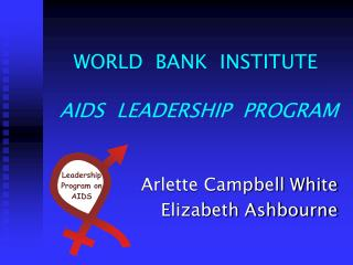 WORLD  BANK  INSTITUTE AIDS  LEADERSHIP  PROGRAM
