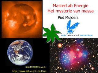 MasterLab Energie Het mysterie van massa