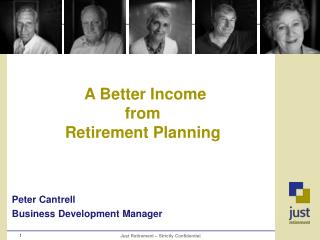 A Better Income  from Retirement Planning
