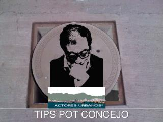 TIPS POT CONCEJO